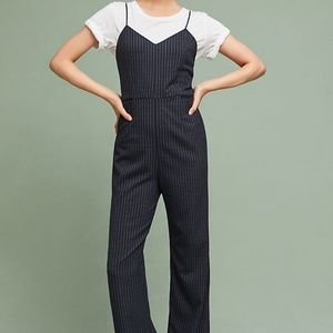 The Essential Pinstriped Jumpsuit